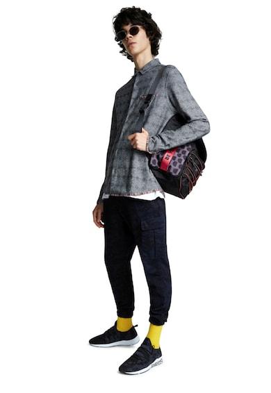 DESIGUAL Camasa cu model geometric Barbati