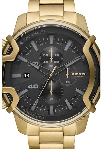 Diesel Ceas cronograf din otel inoxidabil Barbati