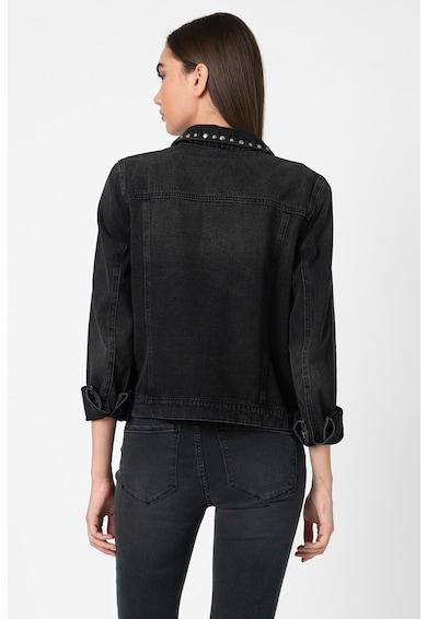 Vero Moda Jacheta din denim cu aplicatii cu nituri Mikky Femei