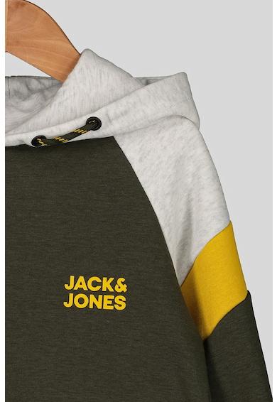 Jack&Jones Hanorac cu maneci raglan si logo Baieti