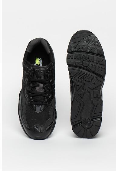 New Balance 850 műbőr sneaker hálós anyagbetéttel férfi