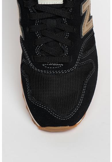 New Balance 373 nyersbőr sneaker fémes részletekkel női
