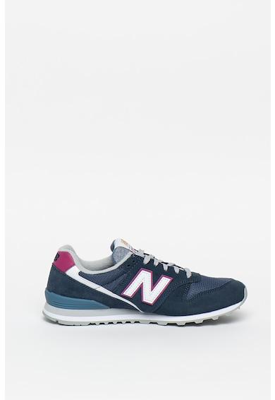New Balance 996 nyersbőr sneaker bőrrészletekkel női