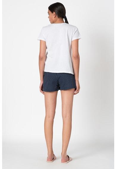 Trendyol Pijama scurta cu imprimeu text Femei