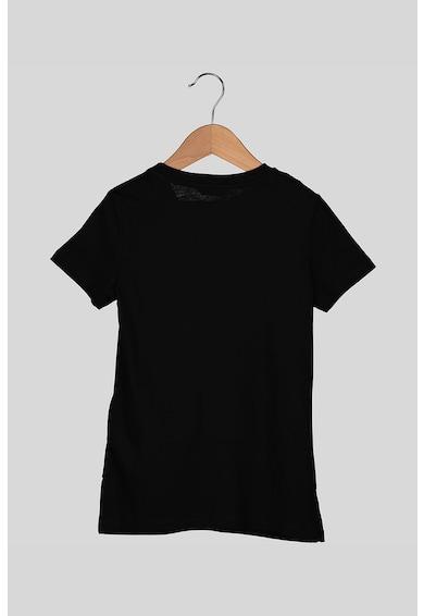GUESS JEANS Modáltartalmú póló flitteres logóval Lány