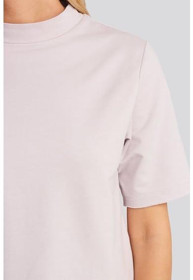NA-KD Bluza cu maneci scurte si guler scurt Femei