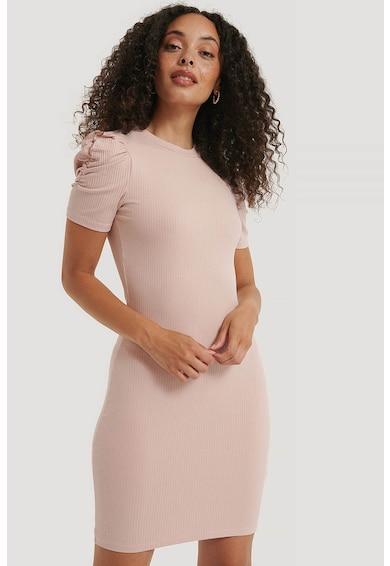 NA-KD Lyocelltartalmú rövid ruha puffos ujjakkal női