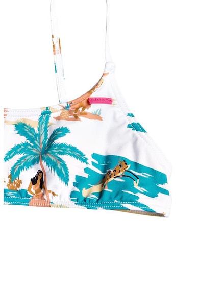 ROXY Love Waimea kétrészes fürdőruha trópusi mintával Lány