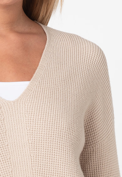 EDC by Esprit Pulover cu decolteu in V si aspect texturat Femei