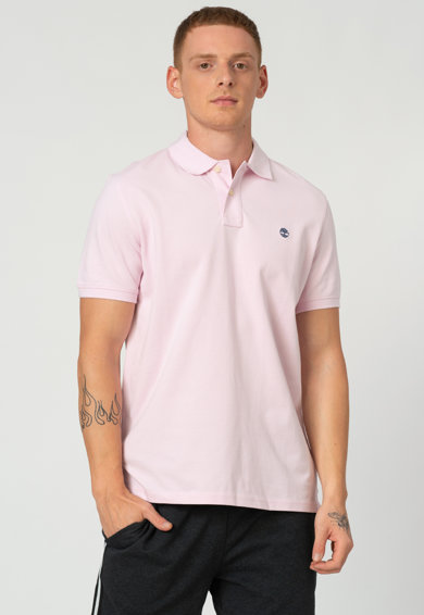 Timberland Tricou polo regular fit din bumbac organic Barbati