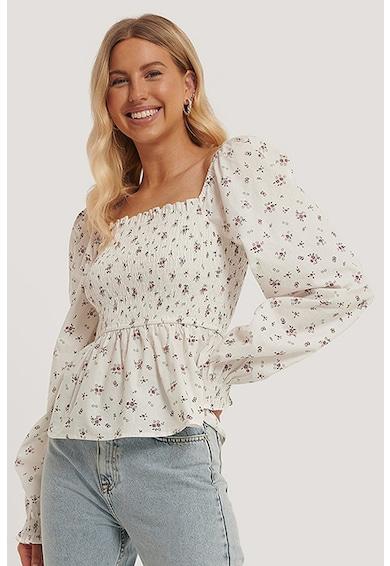 NA-KD Bluza transparenta cu decolteu patrat Femei