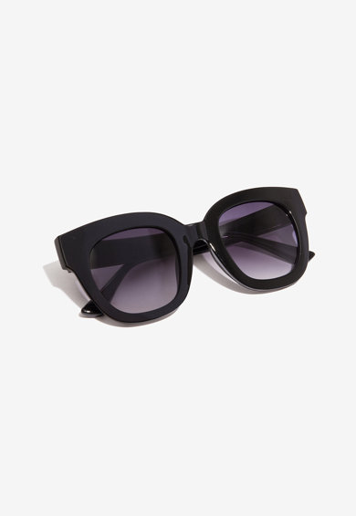 NALI Ochelari de soare dreptunghiulari cu lentile in degrade Femei