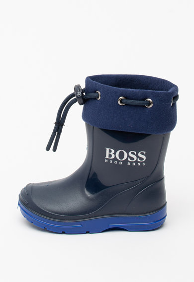 Boss Hugo Boss Cizme de ploaie cu snur ajustabila Baieti