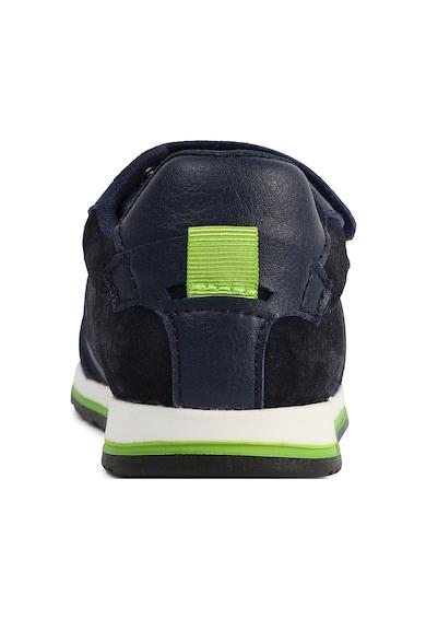 Boss Hugo Boss Pantofi sport de piele intoarsa cu velcro Baieti