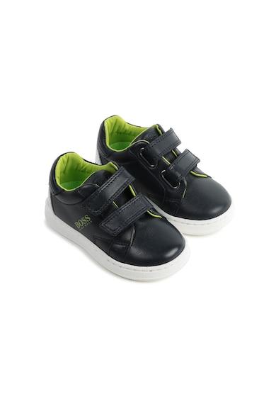 Boss Hugo Boss Tépőzáras bőr sneaker Fiú
