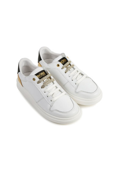 Boss Hugo Boss Műbőr sneaker Lány