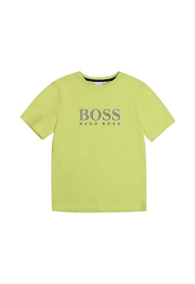 Boss Hugo Boss Kerek nyakú póló logóval Fiú