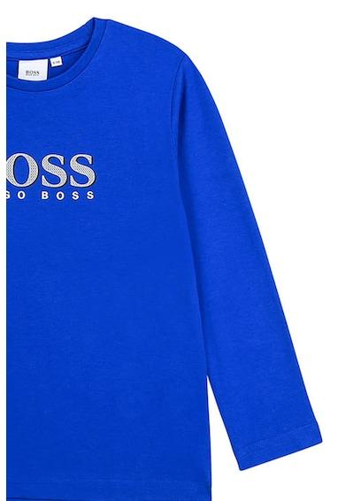 Boss Hugo Boss Kerek nyakú logómintás felső Fiú