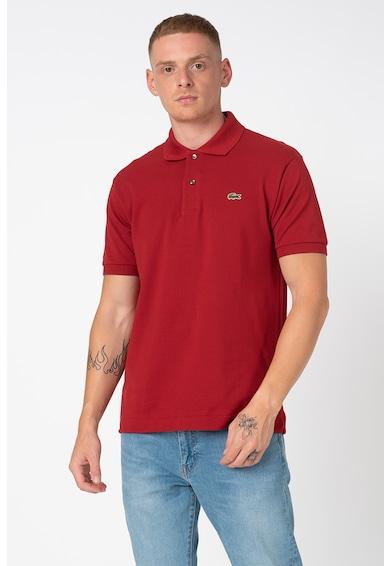 Lacoste Тениска с яка и бродирано лого Мъже