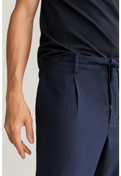 Mango Pantaloni conici cu snur in talie Nolan Barbati