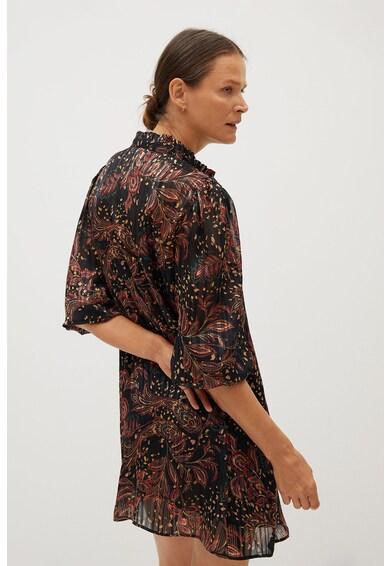 Mango Átlapolós miniruha paisley mintával női