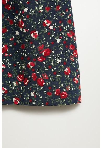 Mango Amelia laza fazonú virágmintás ruha Lány
