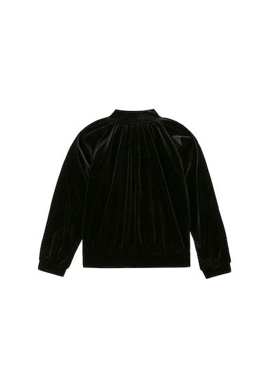 Karl Lagerfeld Bársonyos hatású pulóver Lány