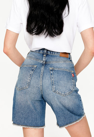 Big Star Pantaloni scurti din denim cu talie inalta Dakota 329 Femei