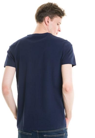 Big Star Kerek nyakú póló gumis mintával férfi
