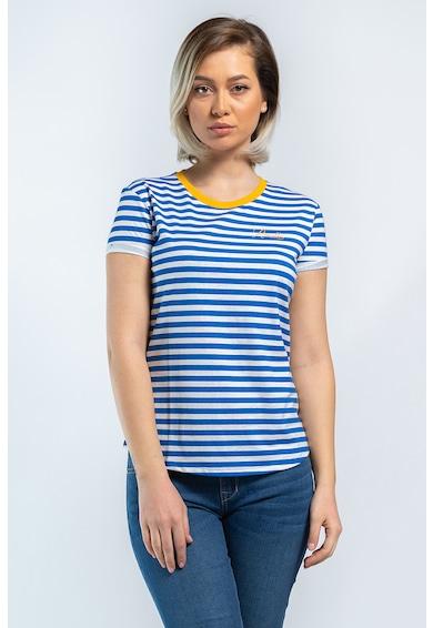 Kenvelo Kerek nyakú csíkos póló női