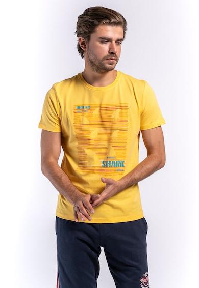 Kenvelo Tricou de bumbac cu imprimeu 10105462 Barbati