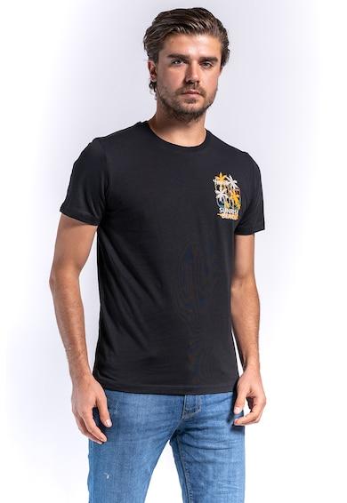 Kenvelo Tricou de bumbac cu imprimeu 10105464 Barbati