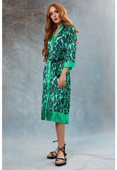 MIAU by Clara Rotescu Jungle állatmintás patentos ingruha női