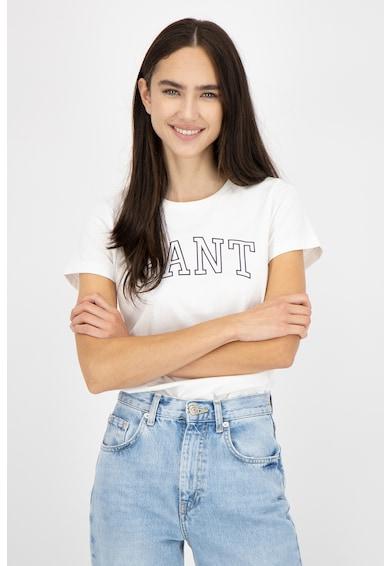 Gant Tricou cu imprimeu logo Arch Femei