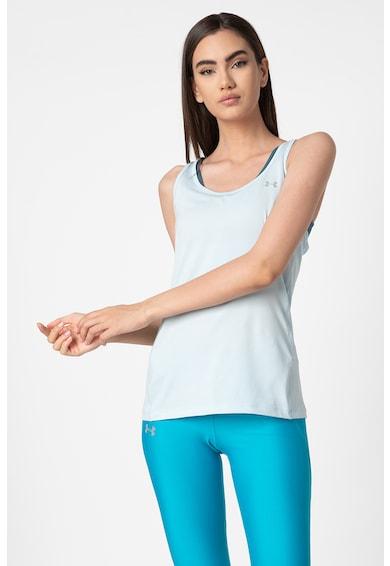 Under Armour Top cu spate decupat, pentru fitness Femei