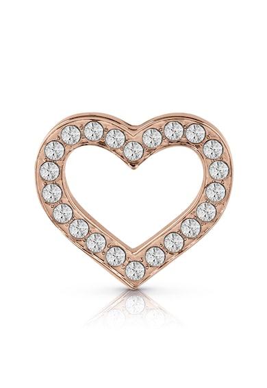 Guess Cercei cu tija in forma de inima si cristale Femei