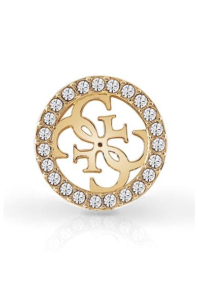 Guess Cercei cu tija si model monograma, decorati cu cristale Swarovski Femei