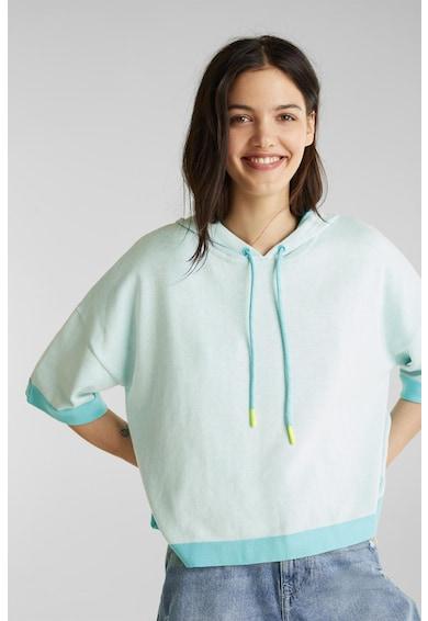 EDC by Esprit Hanorac lejer de bumbac organic, tricotat fin Femei