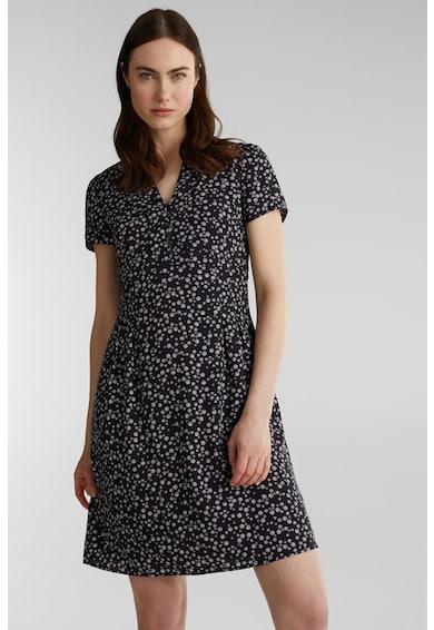 Esprit Bővülő fazonú virágmintás ruha női