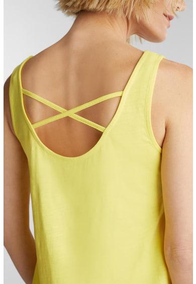 Esprit Bővülő fazonú organikuspamut ruha zsebekkel női