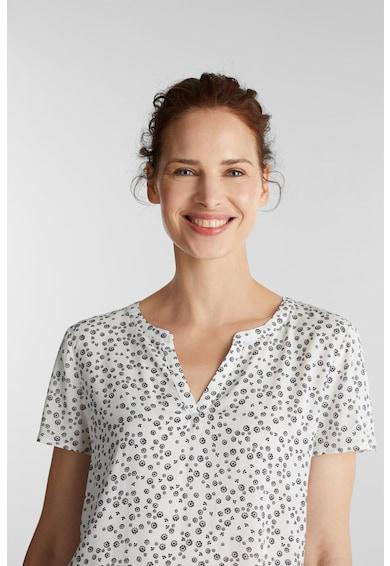 Esprit Bluza vaporoasa tip tunica cu imprimeu Femei