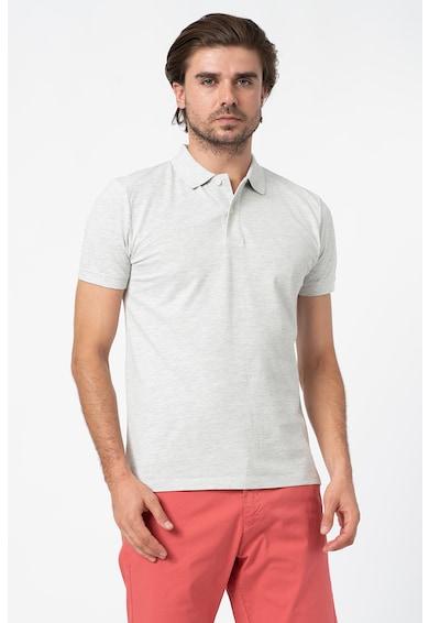 Esprit Тениска с органичен памук и яка Мъже
