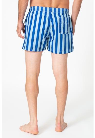 Guess Pantaloni scurti de baie cu model in dungi Barbati