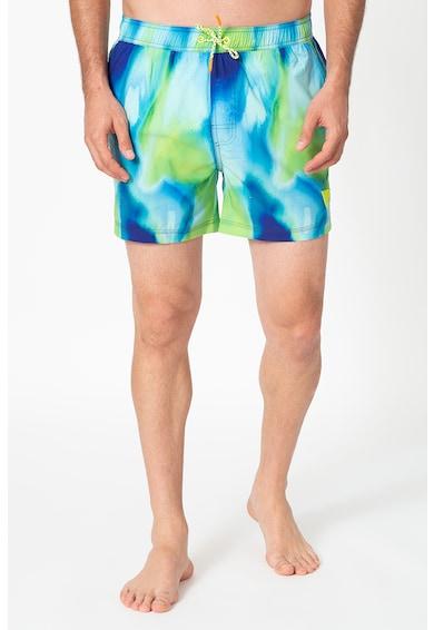 Guess Pantaloni scurti de baie cu model Barbati
