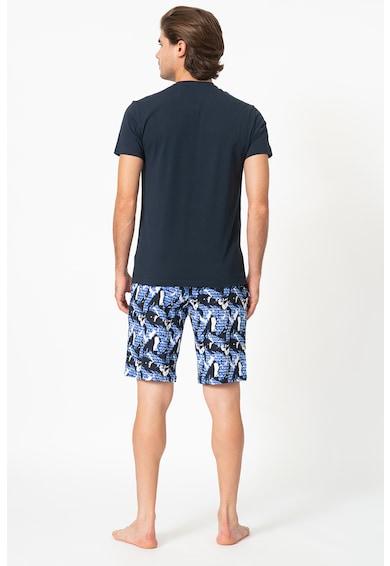 Emporio Armani Underwear Pijama cu imprimeu logo Barbati
