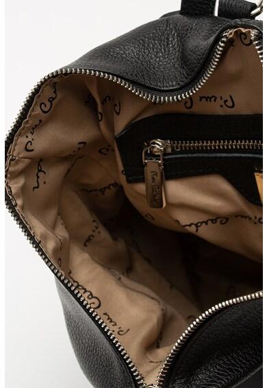 Pierre Cardin Cipzáros bőr hátizsák férfi