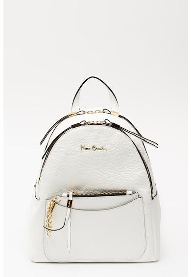 Pierre Cardin Kis bőr hátizsák cipzáros kistáskával női