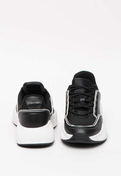 CALVIN KLEIN Bradie sneaker bőr részletekkel női