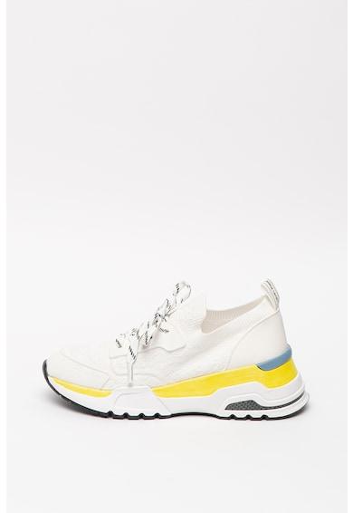 CALVIN KLEIN Pantofi sport slip-on cu talpa contrastanta Hensley Femei