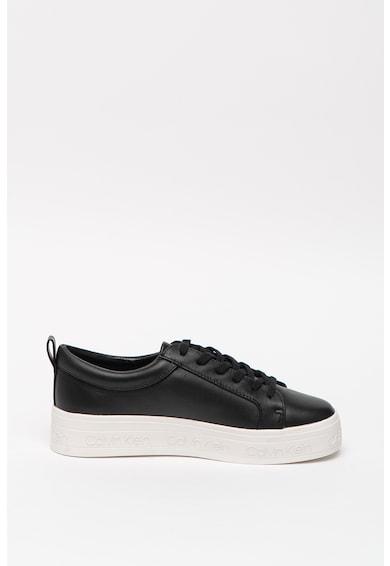 CALVIN KLEIN Pantofi sport de piele Jaelee Femei